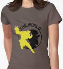 ZA WARUDO! Women's Fitted T-Shirt