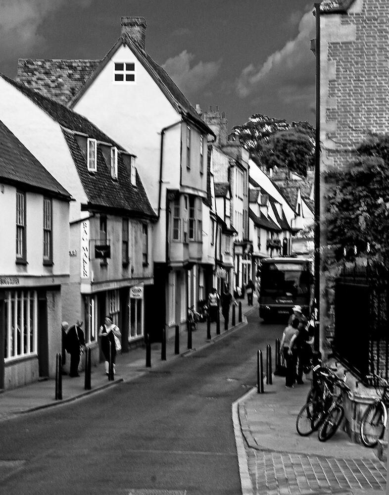 Bridge Street in Cambridge by Yukondick