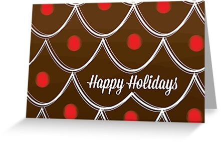 Gingerbread House - Holiday Card by charliesheets