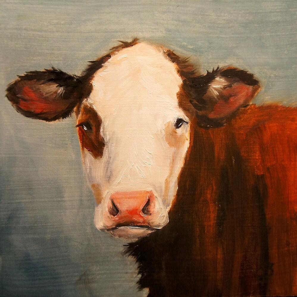 Cow by Elizabeth Barrett