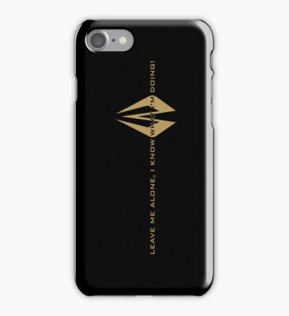 Kimi Raikkonen - I Know What I'm Doing! - Lotus Gold iPhone Case/Skin