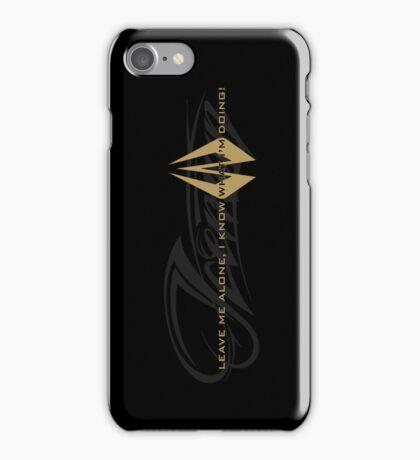 Kimi Raikkonen - I Know What I'm Doing! - Iceman - Lotus Gold iPhone Case/Skin