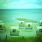 #NeinGrenze beach chairs by OLIVER W