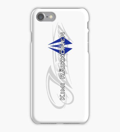 Kimi Raikkonen - Iceman (Finland Colours) iPhone Case/Skin