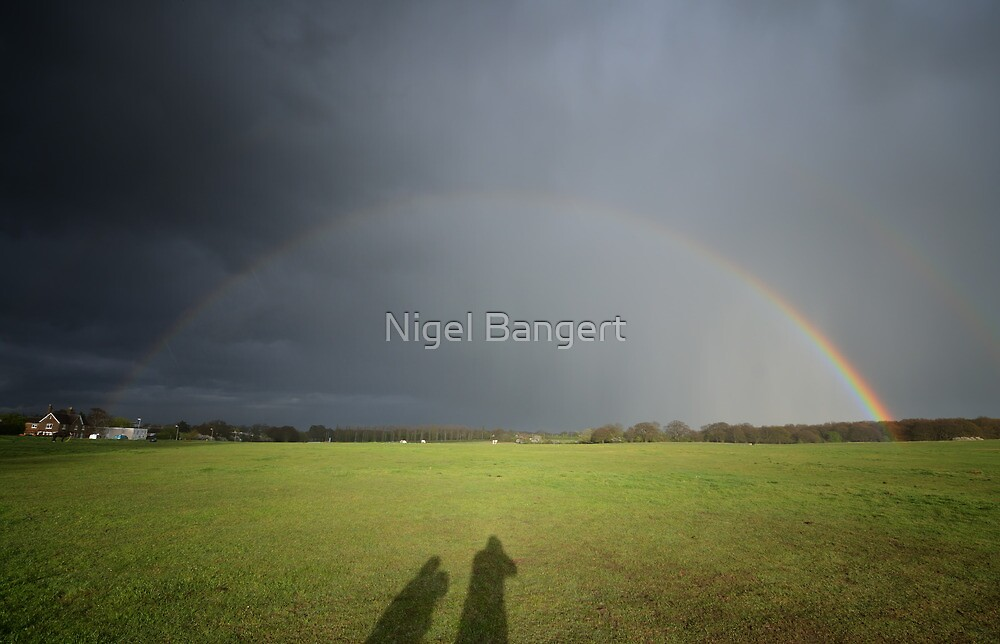 We see a Rainbow by Nigel Bangert