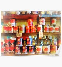 Canned Tomatoes Poster