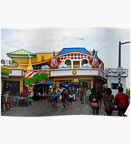 Fun House - Pt. Pleasant Beach NJ Poster
