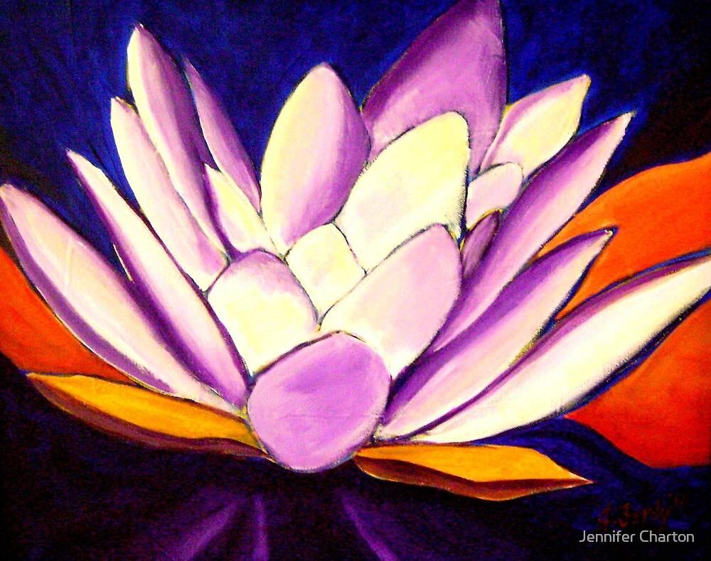 Glowing Loutus by Jennifer Charton