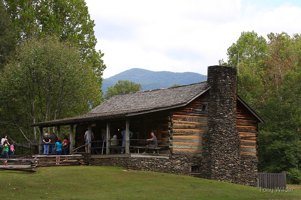Cable Mills Visitor Center - Cades Cove Tennessee by Tony Wilder