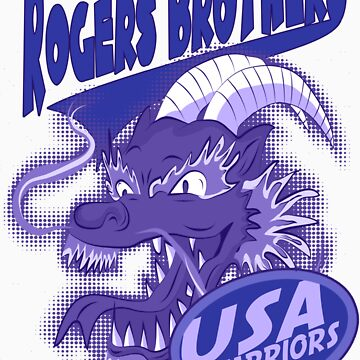 usa warriors chinatown by rogers bros by usala