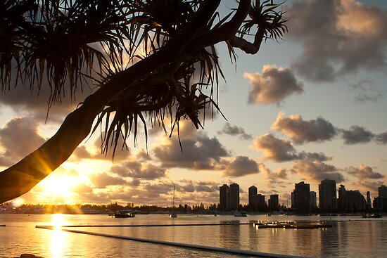 Broadwater Sunrise by AussieLP