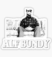 ALF Bundy Sticker