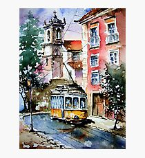 Lisbon always be charming.. Photographic Print