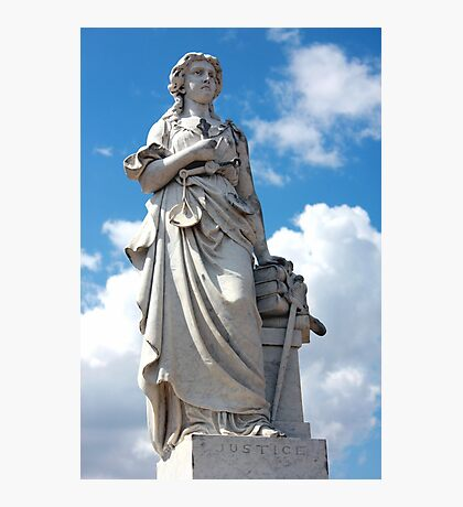 Lady Justice Photographic Print