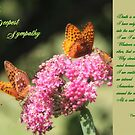 With Deepest Sympathy by Vickie Emms