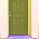 Green Door by Rachel Williams