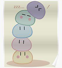 Dango Pile Poster