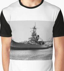 USS Iowa Graphic T-Shirt