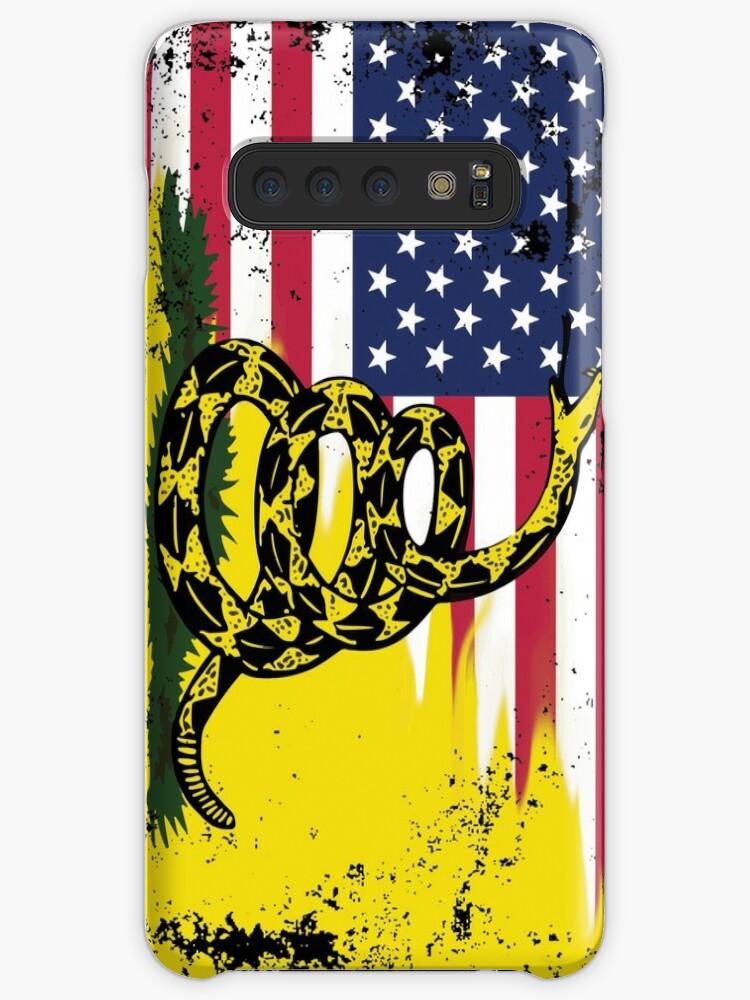 «Bandera estadounidense de Gadsden usada» de misterspotswood