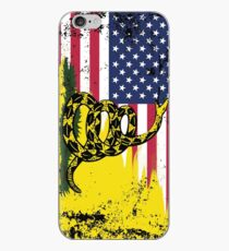 American Gadsden Flag Worn iPhone Case