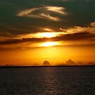 glass house mountains by newby52