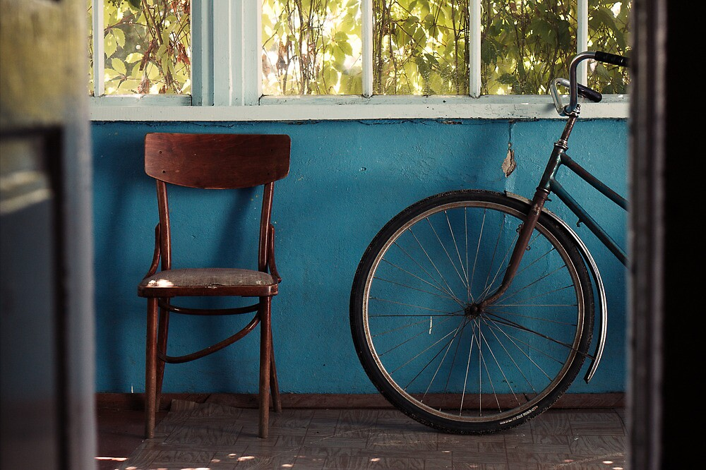 Bike and Chair by ivankay