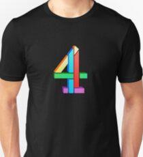 Channel 4 retro logo  Unisex T-Shirt