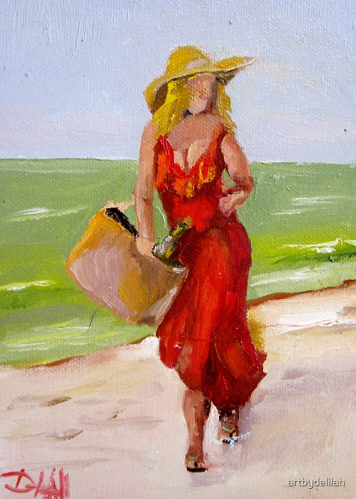 Devil in the Red Dress by artbydelilah