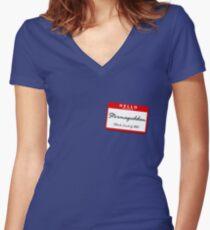 Stormageddon Women's Fitted V-Neck T-Shirt
