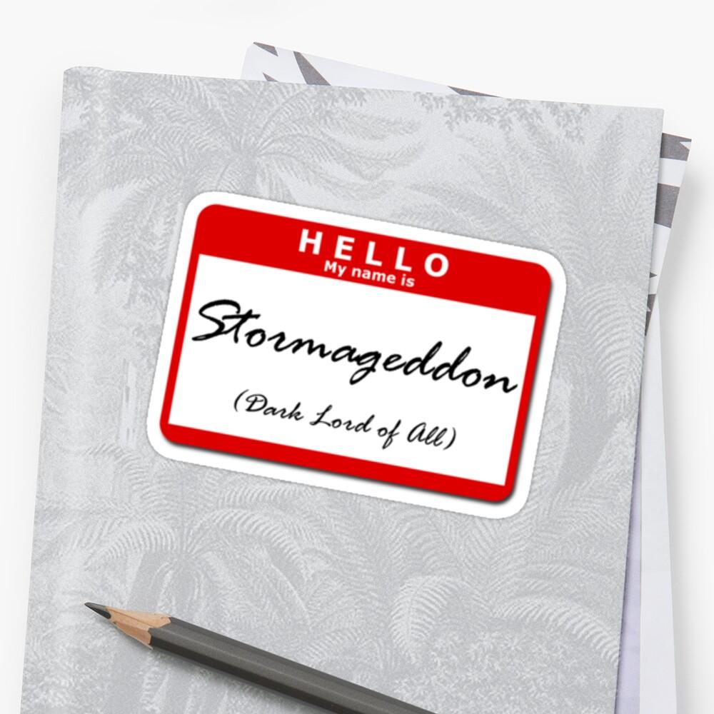 Stormageddon by uncmfrtbleyeti