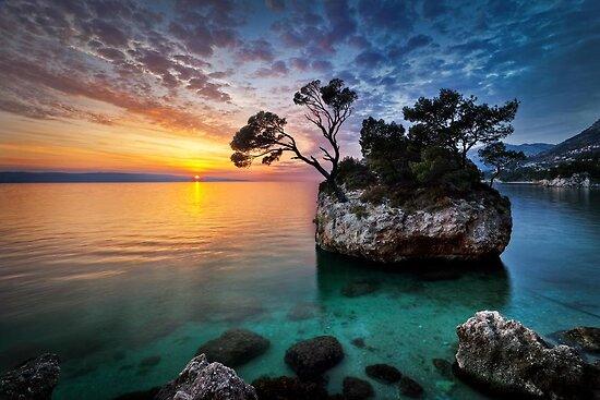 Moods of sunset by Lidija Lolic