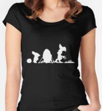 Grevolution - Dark Women's Fitted Scoop T-Shirt