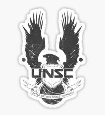 UNSC Logo Grey Sticker