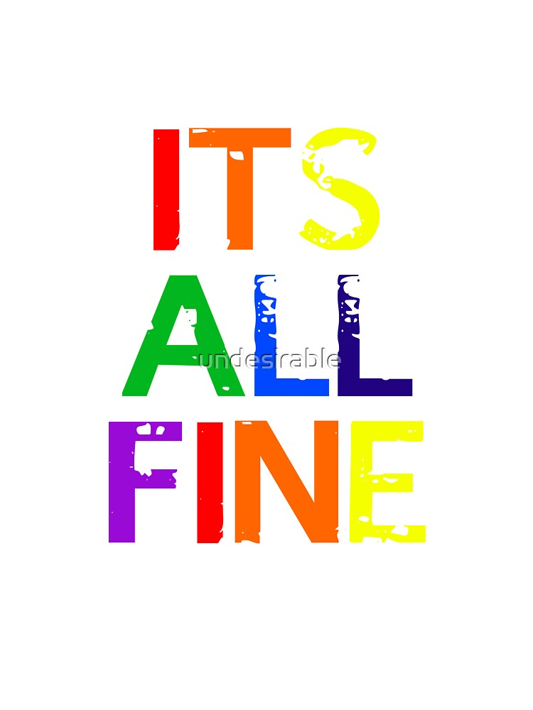It's All Fine (Johnlock) ~ Rainbow by undesirable