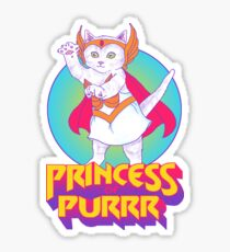 Princess of Purrr Sticker