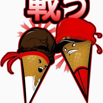 Super Sweet Fighter - Sticker by SKELEPUG