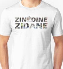 Zinedine Zidane Unisex T-Shirt