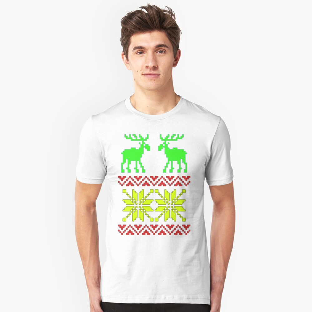 My Ugly Christmas Tee Shirt Unisex T-Shirt Front