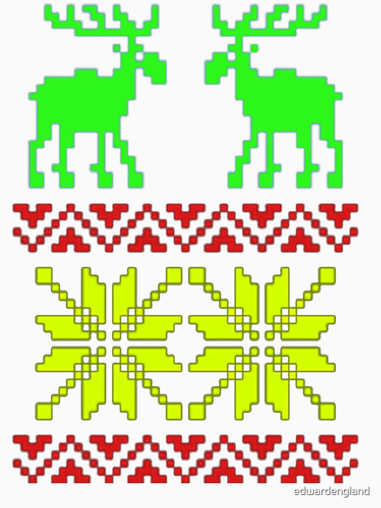 My Ugly Christmas Tee Shirt by edwardengland