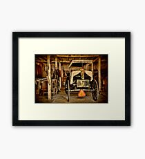 Yet Another Mode of Transportation Framed Print
