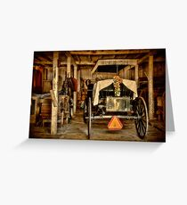 Yet Another Mode of Transportation Greeting Card