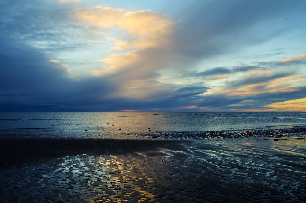 Blue Sunset by mcornelius