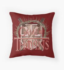 Game of Thorns Throw Pillow