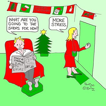 Christmas Stress by paulinegsmj