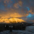 Sunrise in the Crowsnest Pass by Kerri Gallagher