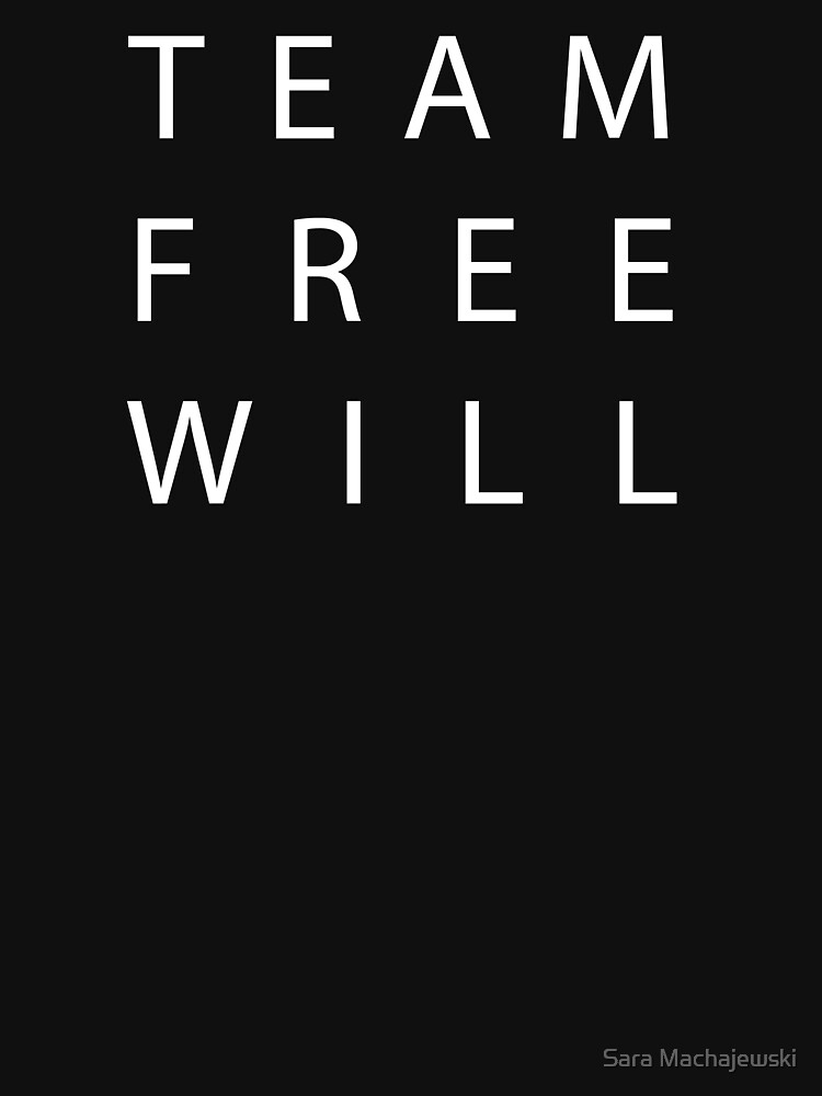 Team Free Will - White by Smachajewski