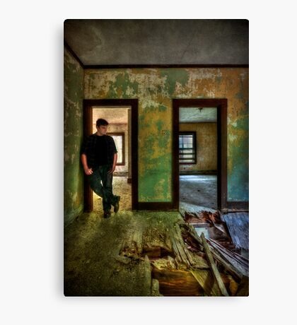 Beyond Regrets Of The Past Canvas Print