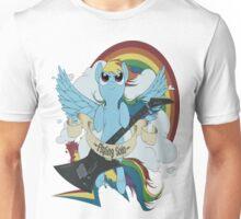 A dashing flying solo! Unisex T-Shirt