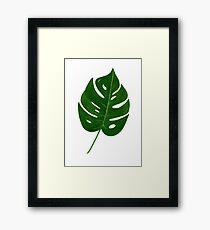 Leaf Print - 2 Framed Print