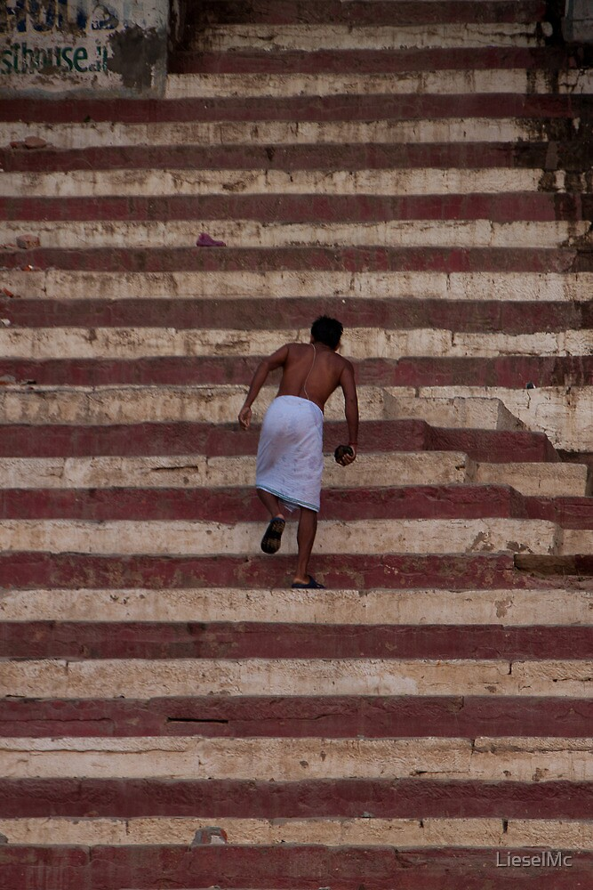 Stairs of the Ganges by LieselMc
